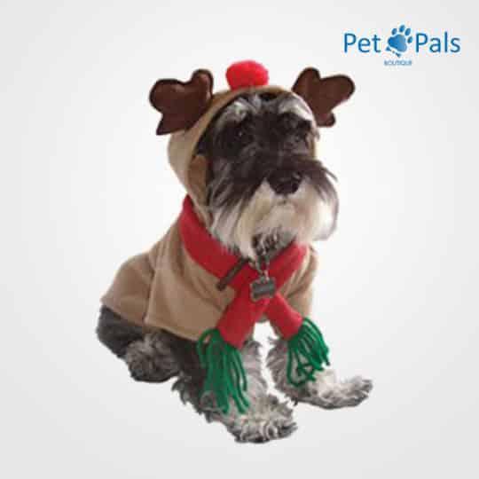 Disfraz reno para perro