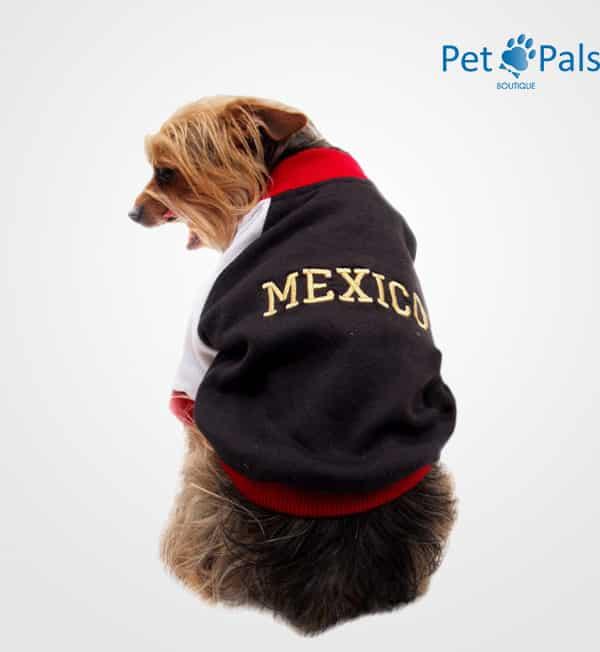 Chamarra México para perro