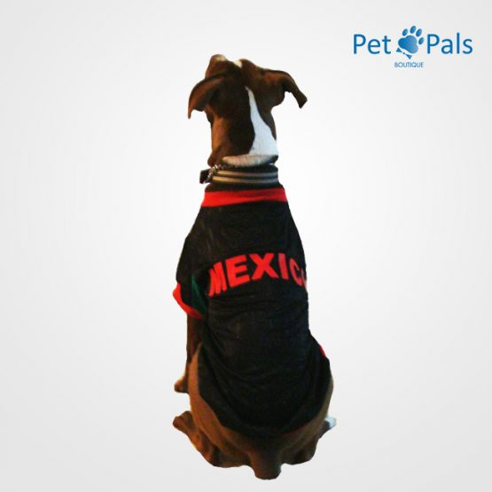 Playera México negraroja