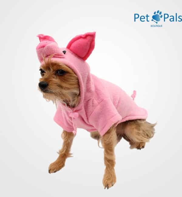 Disfraz de puerquito para perro