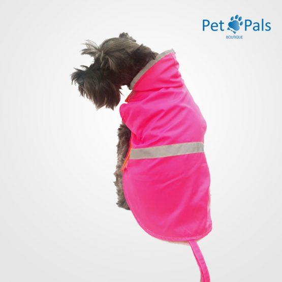 rain coat rosa