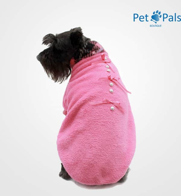 Suéter para perro cariño rosa
