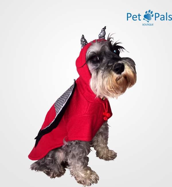 Disfraz de diablo para perro