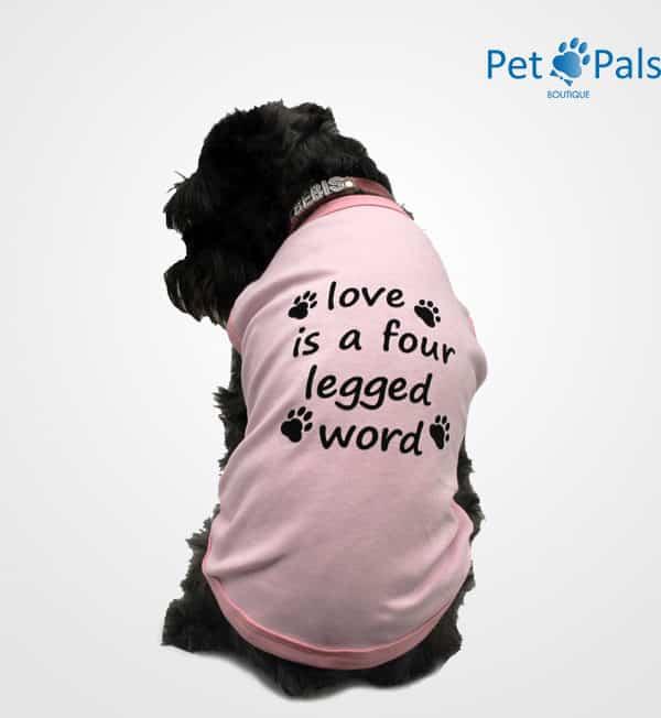 Playera rosa para perro Pet Pals Boutique