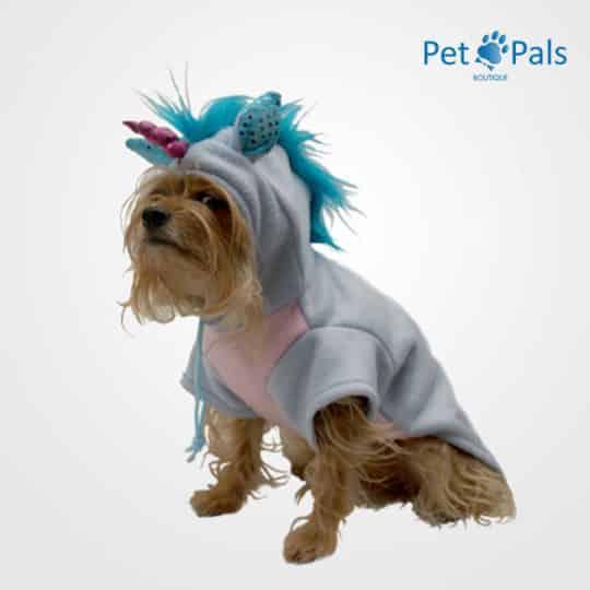 disfraz de unicornio azul