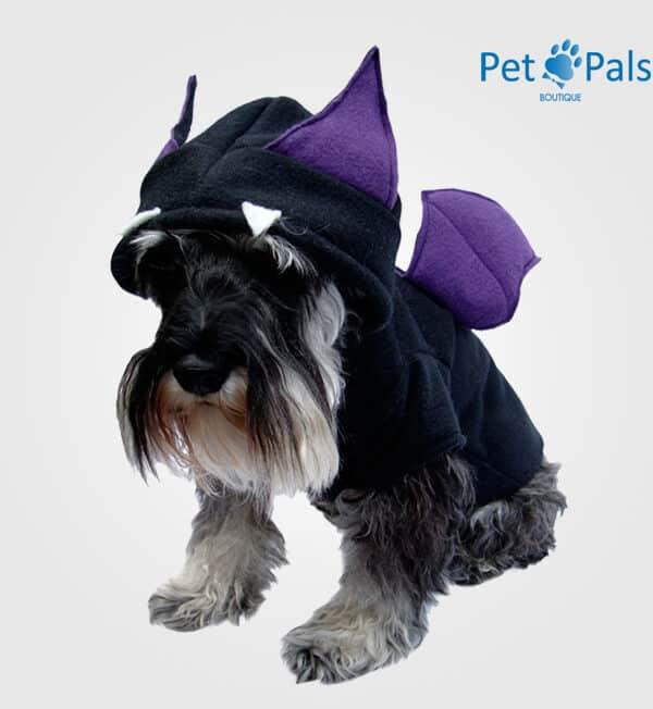 Disfraz murciélago perro