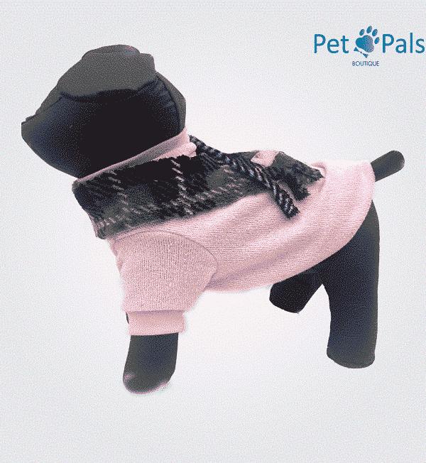 Suéter para perro rosa