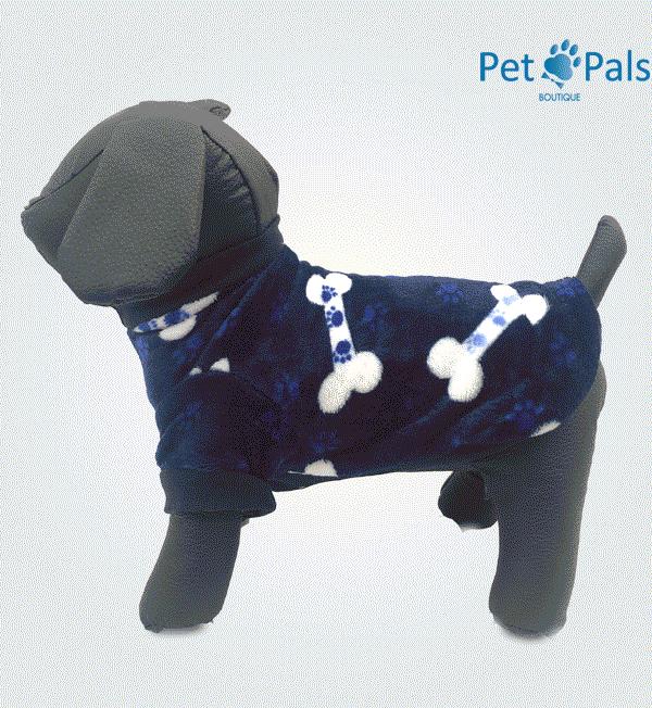 Suéter para perro huesos